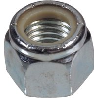 The Hillman Group 180141 Nylon Insert Lock Nut, 10 - 24 Inch, 100-Pack