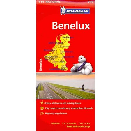 Michelin Benelux Map 714