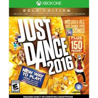 Just Dance 2016 Gold Edition, Ubisoft, Xbox One, 887256014193