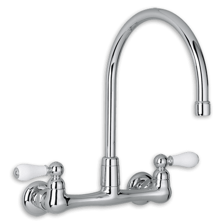 American Standard Heritage Faucet (American Standard Heritage 2-Handle High-Arc Wall Mount Kitchen Faucet in)