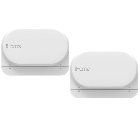 iHome iSB04 Wifi Door/Window Security Sensor Alarm DIY Home Protection  Burglar Alert Ideal for Home Garage Apartment Dorm RV Office  Installation-Free