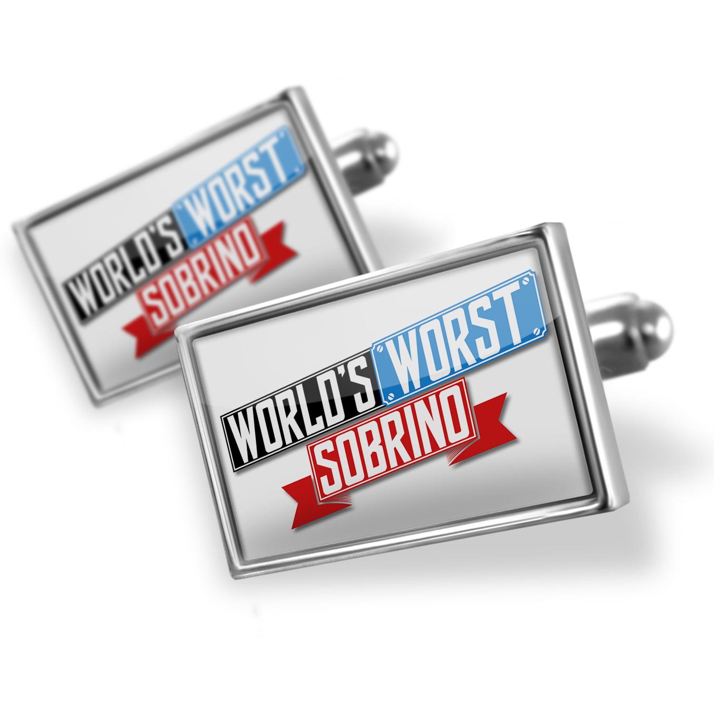 Cufflinks Funny Worlds worst sobrino - NEONBLOND