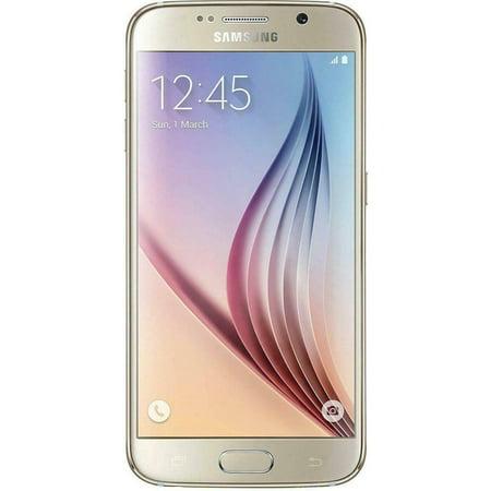 Refurbished Samsung Galaxy S6 32GB Verizon + GSM Unlocked AT&T T-Mobile Smartphone - (Verizon Galaxy S6 Edge On T Mobile)