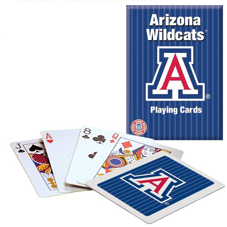 Officially Licensed NCAA Arizona Playing Cards