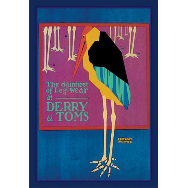 Buy Enlarge 0-587-01469-5P20x30 Daintiest of Leg-Wear- Paper Size P20x30
