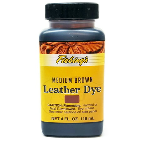 FIEBING'S ALCOHOL BASED LEATHER DYE ALL COLORS 4 OZ/ 32 OZ ()