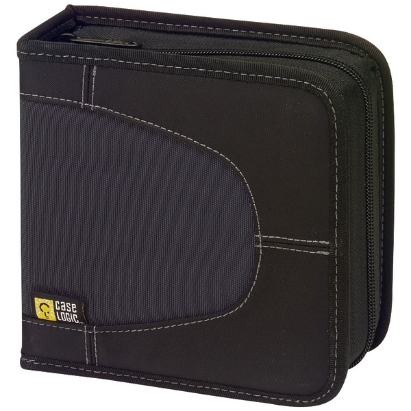 Case Logic(R) 3200038 Nylon CD Wallets (32 Disc)