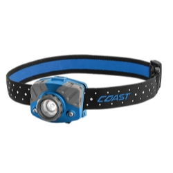 FL75R RECHARGEABLE HEADLAMP BLUE BODY IN GIFT BOX