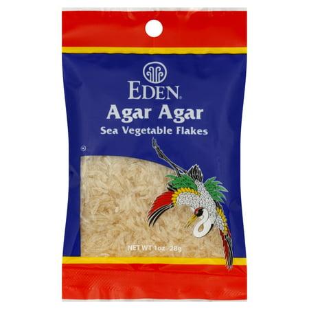 (6 Pack) Eden Foods - Agar Agar Sea Vegetable Flakes - 1 Ounce