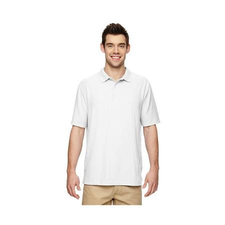 Gildan Men's Moisture Wicking Bottom Hem Pique Polo Shirt, Style G72800