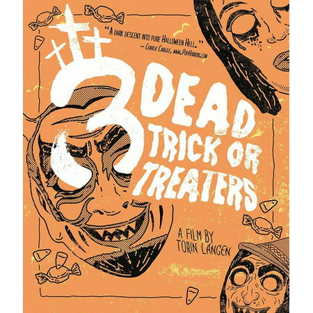 3 Dead Trick Or Treaters (Blu-ray) - Halloween No Trick Or Treaters