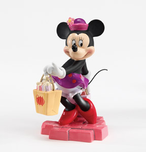 Disney and Me 4006557 Shop Till You Drop - Minnie Mouse Shopping