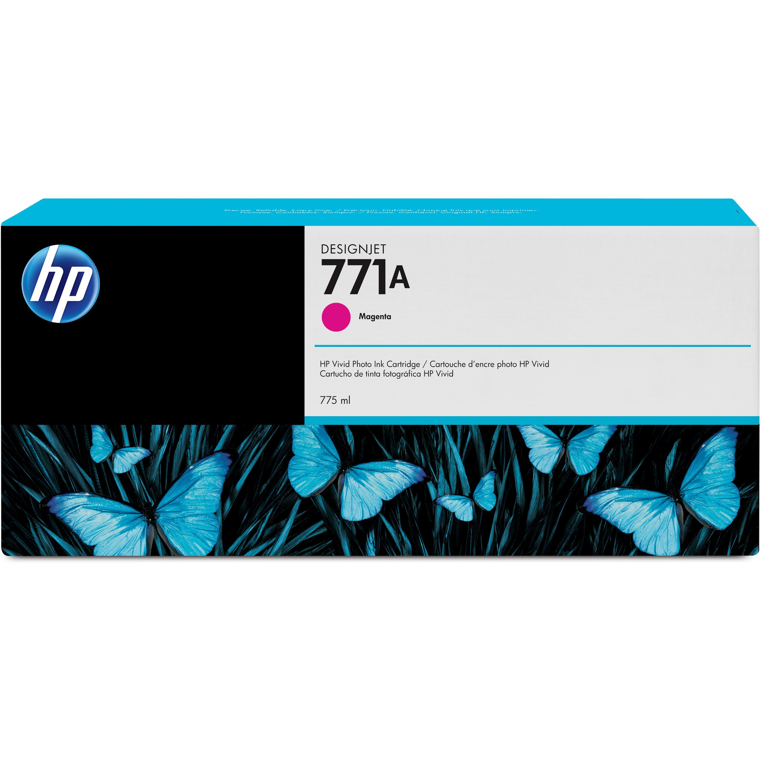 HP, HEWB6Y17A, 771 Inkjet Cartridge, 1 Each