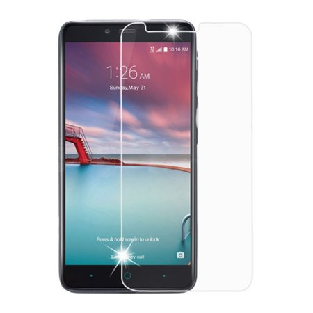 Insten Clear Tempered Glass Screen Protector Film Cover For ZTE Zmax Pro Z981 / Grand X Max 2 / Imperial Max / Kirk / Max Duo 4G LCD Guard (9H hardness