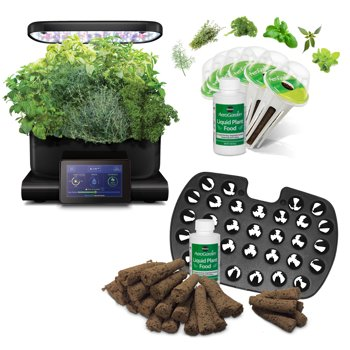 AeroGarden Harvest Touch w/ Gourmet Herb Seed Pod Kit