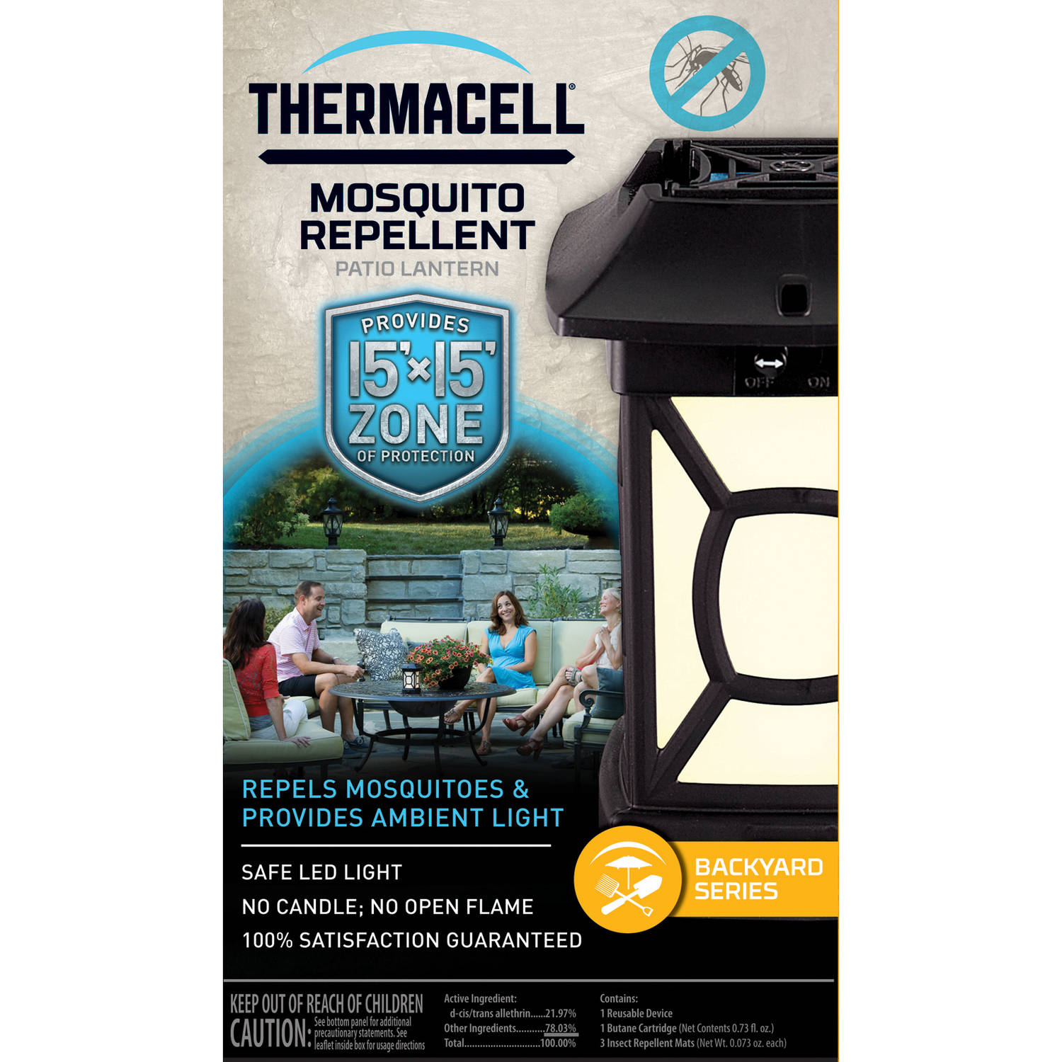 ThermaCELL MR9W Patio Lantern   Walmart.com