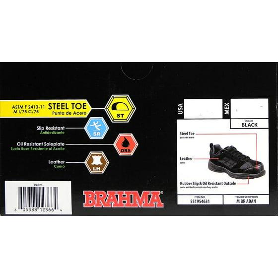 5e5d222f516ed Brahma Men's Adan Steel Toe Low Work Shoe