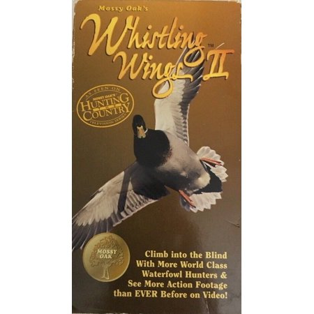 Whistling Wings - Mossy Oak Whistling Wings )II 2)(VHS,1997)TESTED-RARE VINTAGE-SHIPS N 24 HOURS