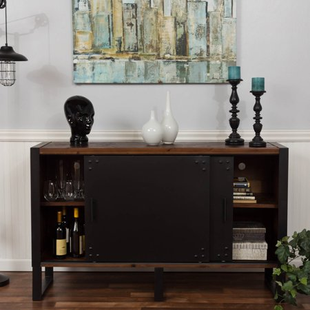 Bombay Natural Reclaimed 2 Door Media Console Table