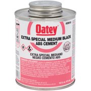 Oatey 16 Oz. Medium Bodied Black Extra Special ABS Cement 30918