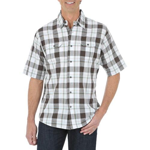 Wrangler Jeans Co Men's' Short Sleeve Woven Shirt