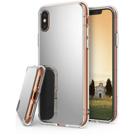 promo code 987b9 257dc Apple iPhone X Phone Case, iPhone 10 Case Ringke Fusion [MIRROR] Bright  Reflection Radiant Luxury Mirror Bumper [Shock Absorption Technology]  Stylish ...