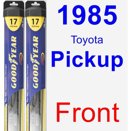 1985 Toyota Pickup Wiper Blade Set/Kit (Front) (2 Blades) -