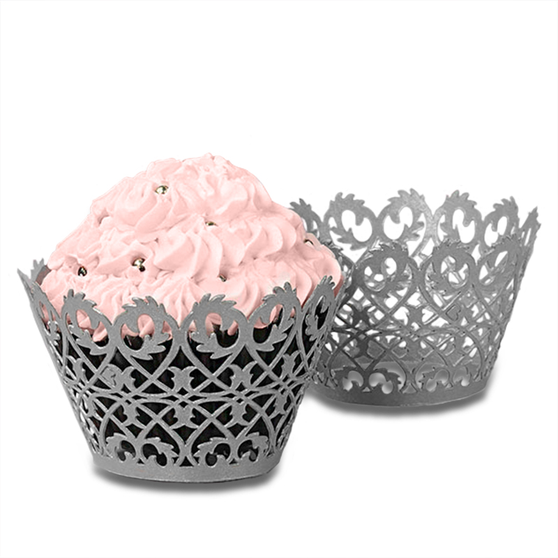 "Polka Dot Cupcake Wrapper  | Quantity: 50  | Diameter - 2"" by Paper Mart"