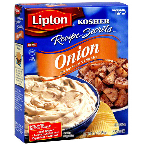Lipton Recipe Secrets Onion Recipe Soup & Dip Mix, 1.9 oz (Pack of 12)