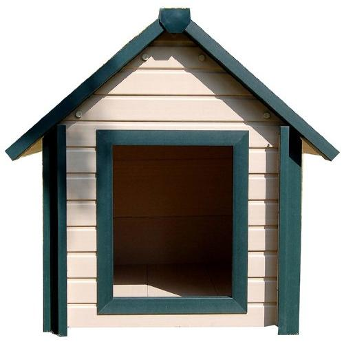 New Age Pet ECOH103L-GN Large A Frame Bunkhouse