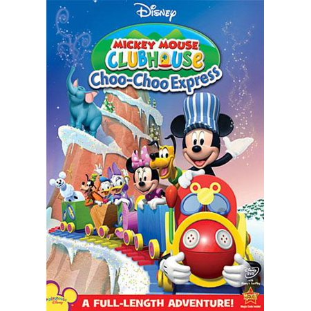 Mickey Mouse Clubhouse: Choo-Choo Express (DVD) (Mickey Mouse Club Halloween Episode)