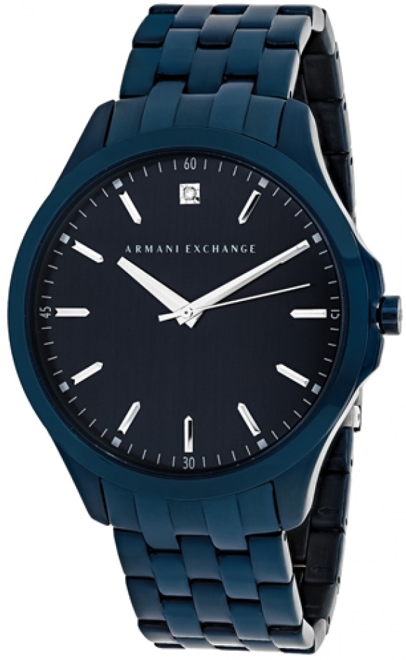 Armani Exchange Blue Stainless steel Mens Watch AX2184