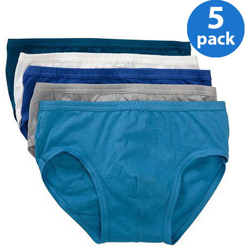 Life by Jockey Men's Bikini Briefs, 5-Pack