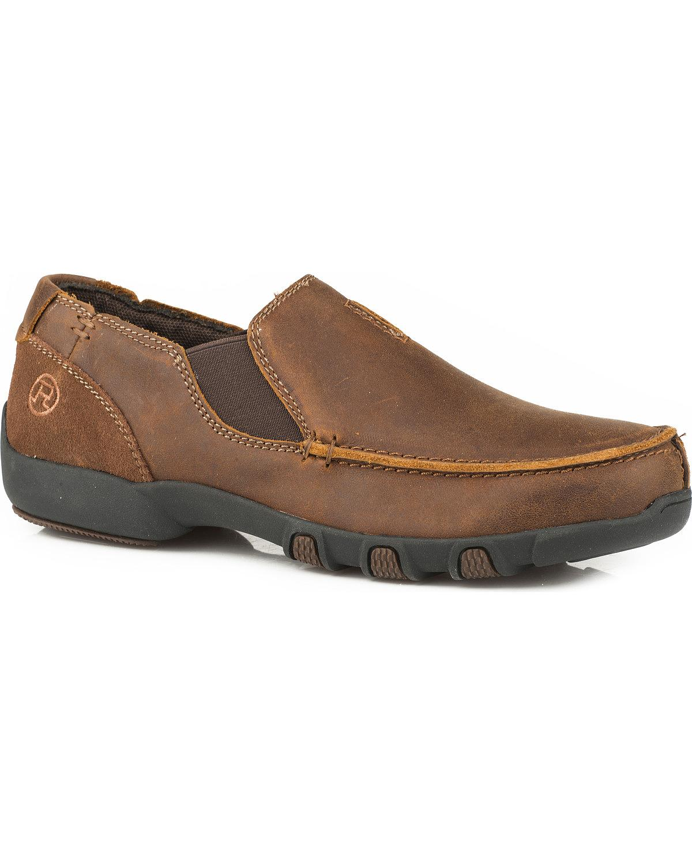 ROPER Mens Docks Driving Style Loafer