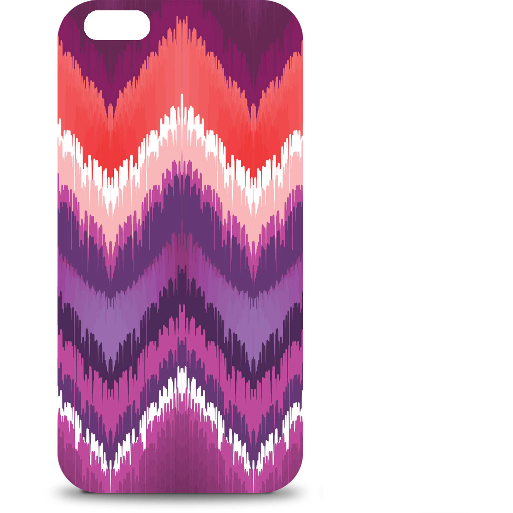 OTM Apple iPhone 6 Bold Collection Case, Peach/Purple