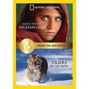 National Geographic Double Feature: Tigers Of The Snow   Search For The Afghan Girl (Full Frame) by NATIONAL GEOGRAPHIC VIDEO