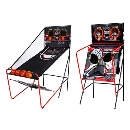 Lancaster 2 Player Electronic Scoreboard Arcade 3 in 1 Basketball Sports Game ()