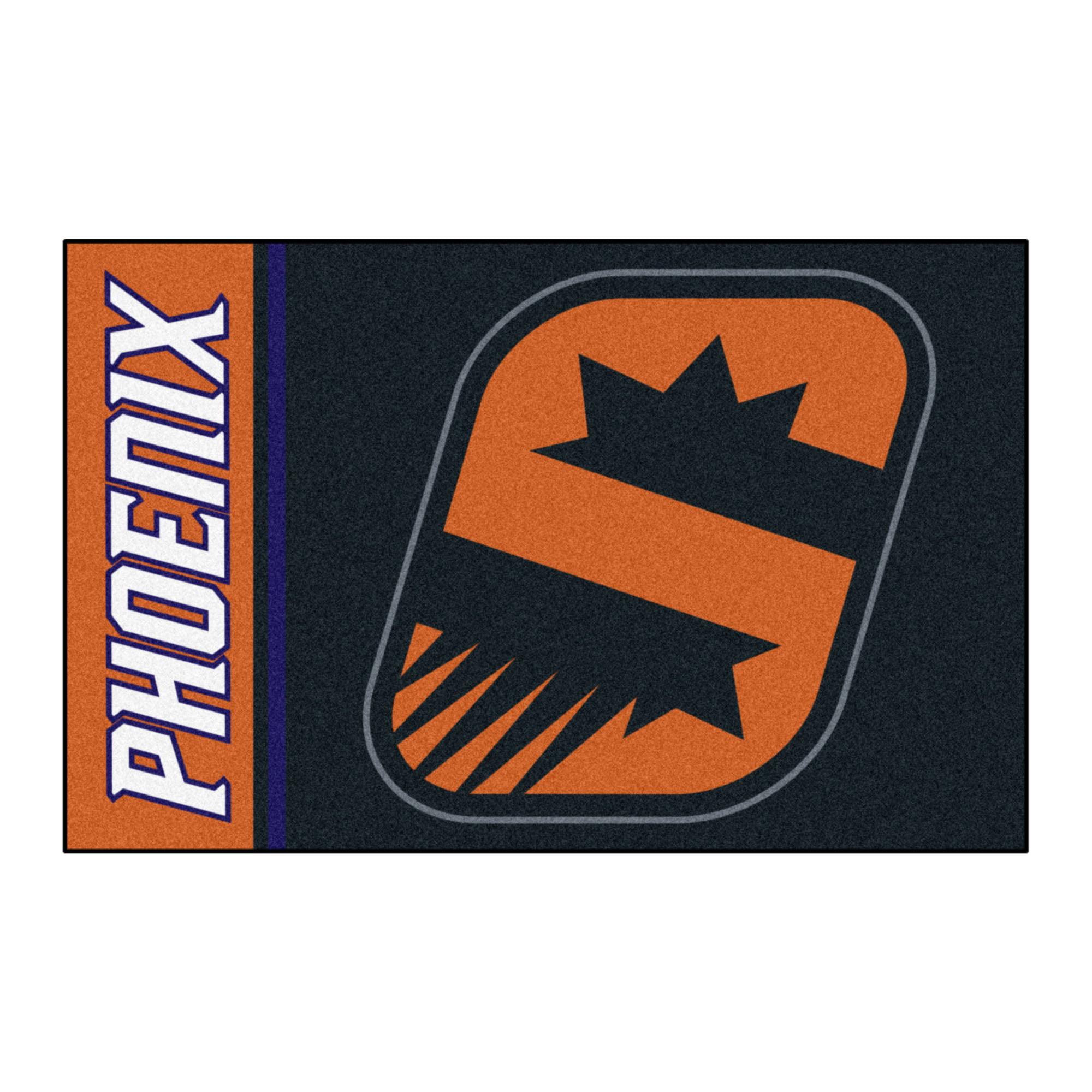 """NBA - Phoenix Suns Uniform Starter Rug 19""""x30"""""""