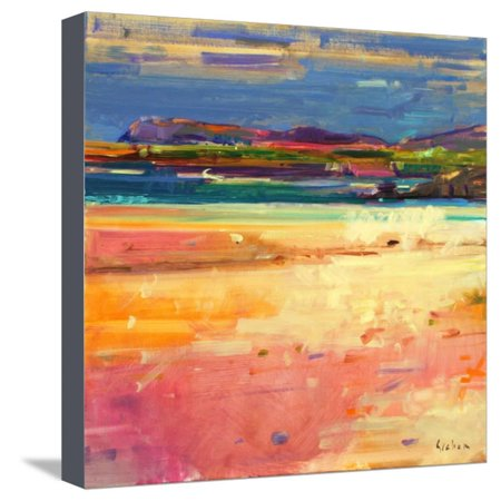 Tangusdale, Barra, 2012 Stretched Canvas Print Wall Art By Peter Graham