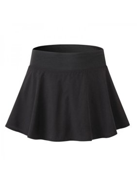 9709d5a27b29 Product Image Lavaport 2 Layers Women Girl Tennis Sport Shorts High Waist  Pleated Mini Skirt