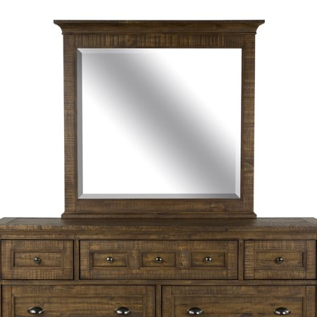 Magnussen Bay Creek Relaxed Traditional Toasted Nutmeg 7 Drawer Dresser with Optional Mirror - Magnussen Traditional Dresser