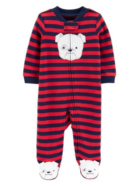 3f7f67f16 Product Image Child of Mine by Carter's Zip-up sleep n play pajama (baby  boys)