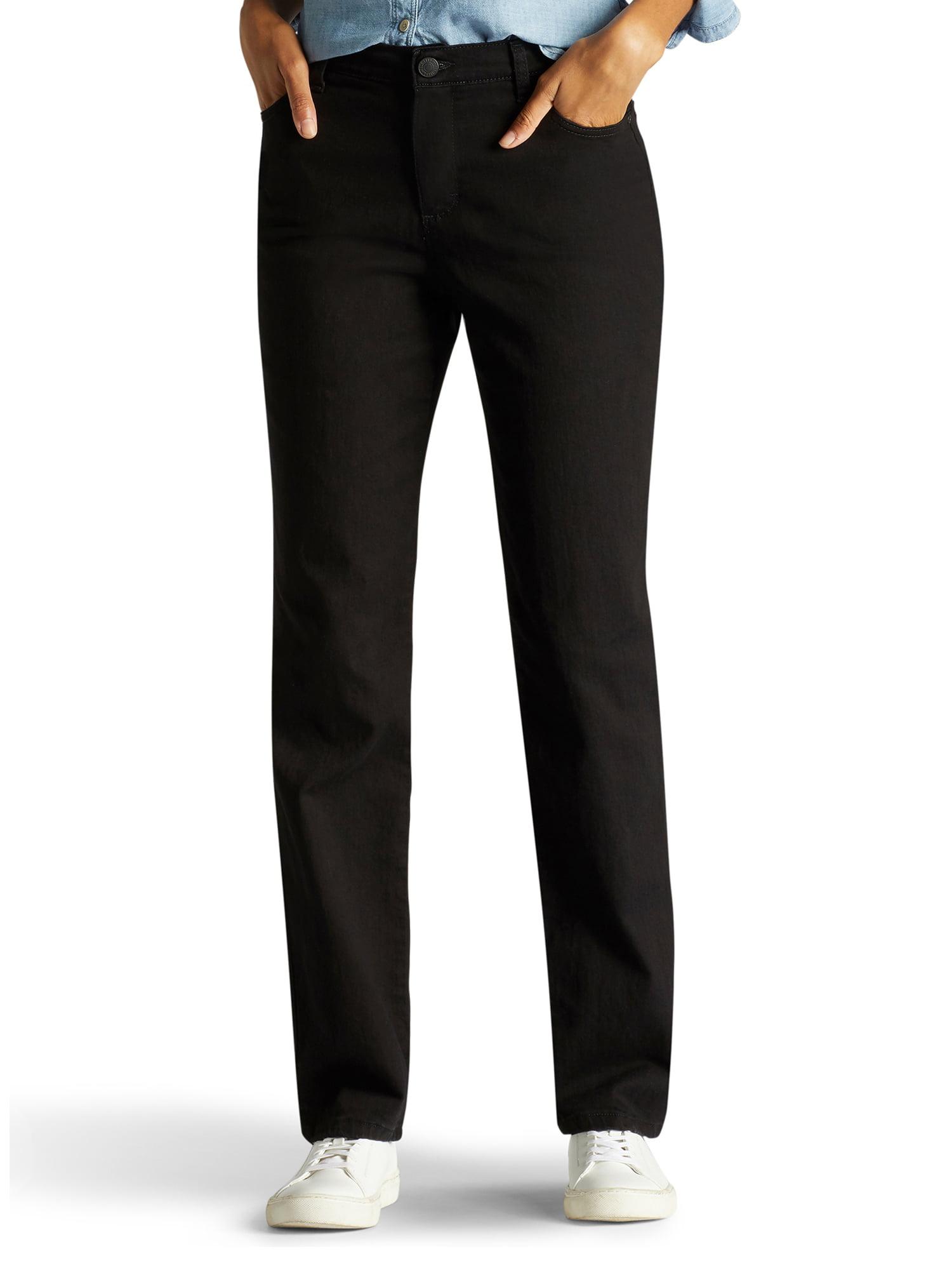 c34a88e3 Lee Jeans - Women's Instantly Slims Straight Leg Jean - Walmart.com