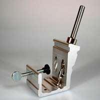 General 849 3/8 Step Drill Bit Pocket Hole Jig Kit