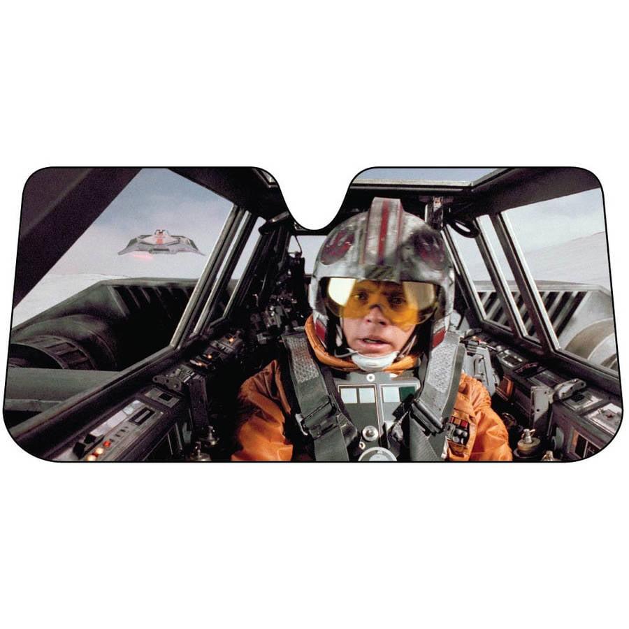 Star Wars Snow Speeder Accordion Bubble Sunshade