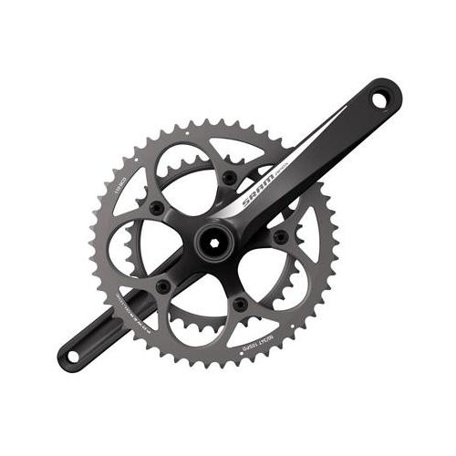 SRAM 2014 Apex GXP Road Bicycle Crankset (White - 180 x 34-50)