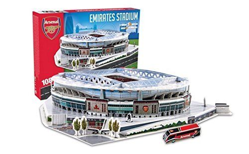 TYSNS 3D Puzzle Arsenal Emirates Stadium Model # 03735 by Daiko