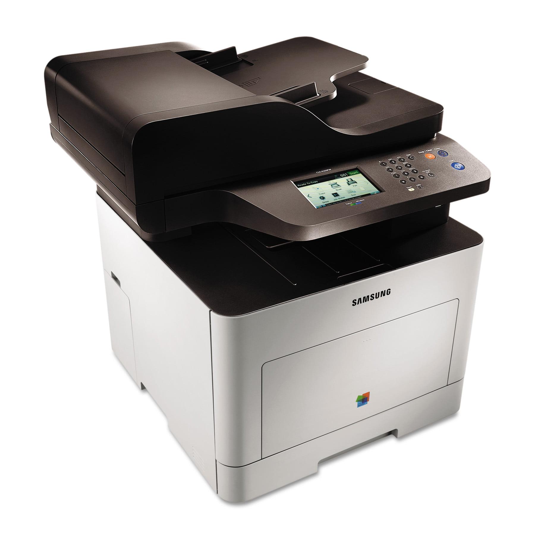 Samsung CLX-6260FW Wireless Multifunction Laser Printer, ...