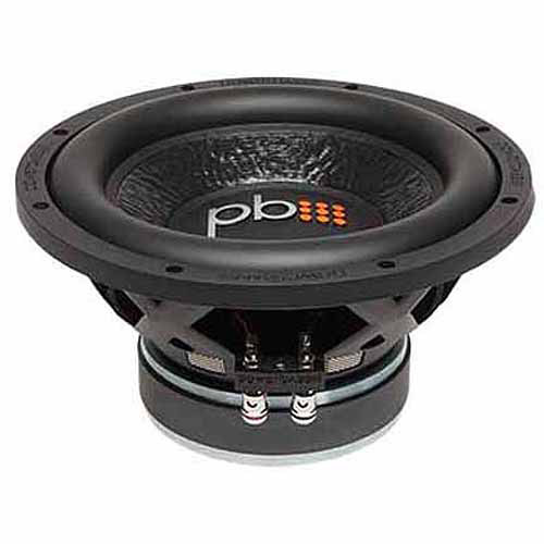 "PowerBass M-1004 10"" Subwoofer, Black"