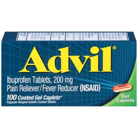 Image of Advil Advanced Medicine for Pain Gel Caps 100, Ct